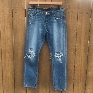Lucky Brand Sienna Slim Distressed Boyfriend Jeans